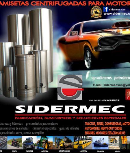 SIDERMEC en Feria Expomecanica Perú 2020