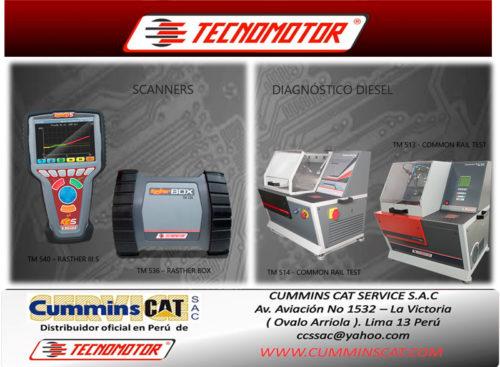 CUMMINS CAT SERVICE en Feria Expomecanica Perú 2020