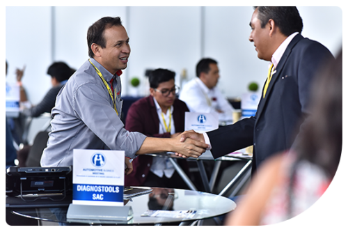 Automotive Business Meeting reunión de negocios en Feria Expomecanica Perú