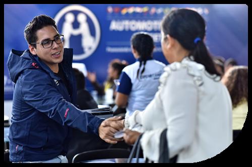 Automotive Business Meeting reunión de negocios en Feria Expomecanica Perú 2
